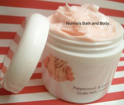 Peppermint and lavender foot cream e91a002e