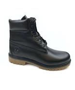 "Timberland Men's Heritage Premium 6"" Waterproof Black Full Grain Boots A... - $149.99"