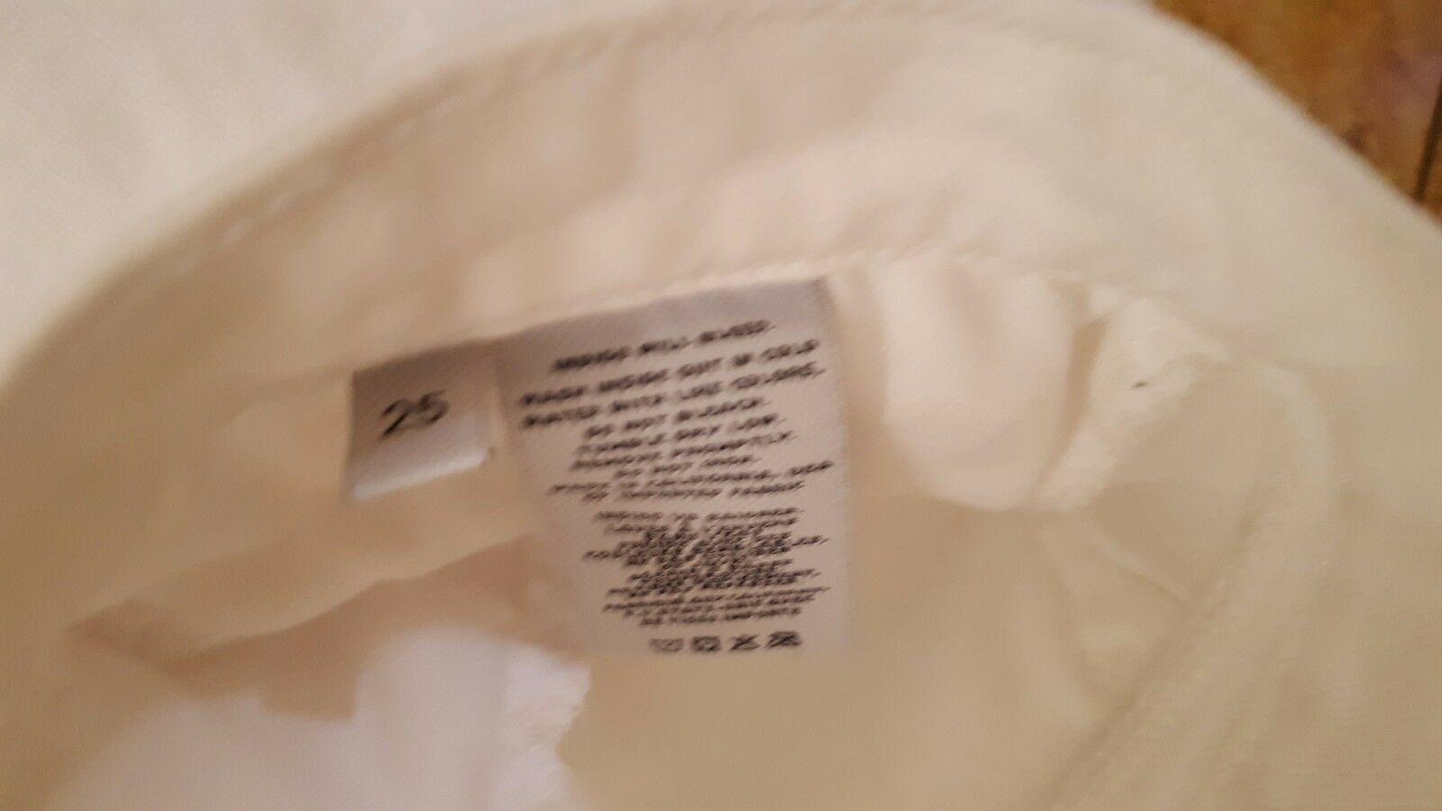 J Brand Jeans Women's Cropped  White Jeans sz 25 Denim  NICE!! #333 image 5