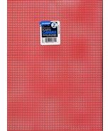 "Christmas Red 7ct plastic canvas 13.5"" x 10.5"" sheet (1per) Darice - $0.75"