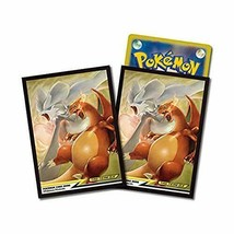 *Pokemon card game deck shield Reshiram & Charizard TAG TEAM GX - $10.84