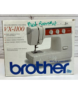 Brother VX-1100 Deluxe Sewing Machine 15-Stitch Functions NEW in Box NOW - $155.55