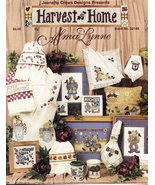 COUNTED CROSS STITCH HARVEST HOME ALMA LYNNE BOOK #22148 - $3.50