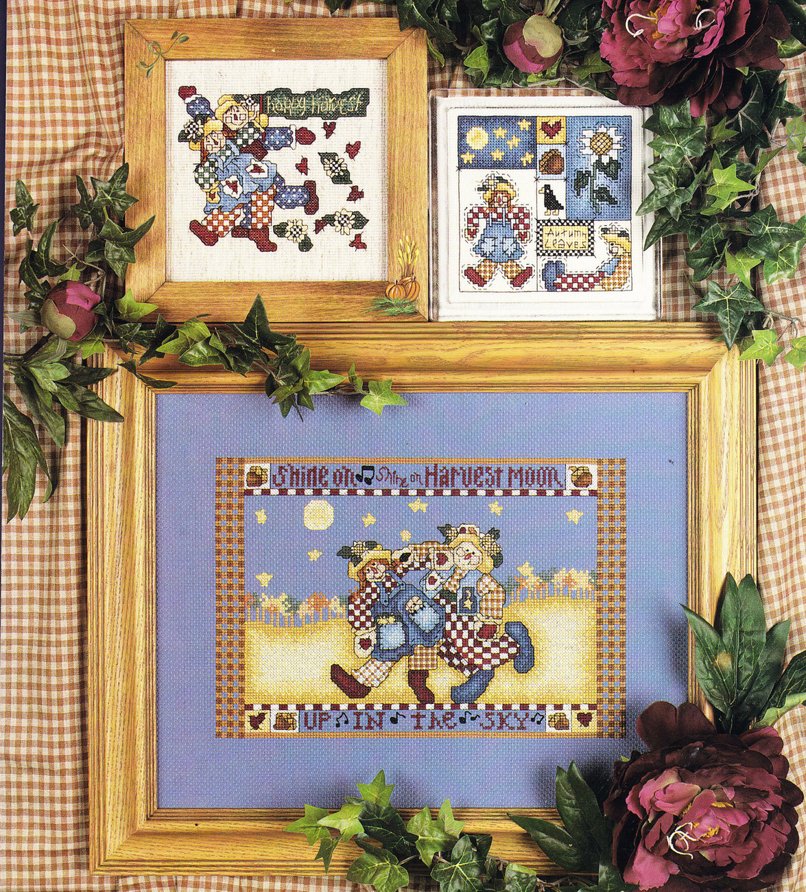 COUNTED CROSS STITCH HARVEST HOME ALMA LYNNE BOOK #22148