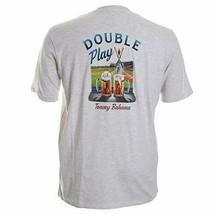 Tommy Bahama Double Play T-Shirt Oatmeal Heather MD - $39.59