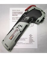 CRAFTSMAN NEXTEC 320.30566 12V CORDLESS MULTI-TOOL W/QUICK RELEASE - BAR... - $66.45