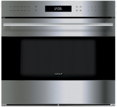 """Wolf SO30TE/S/TH E Series 30"""" Single Electric Wall Oven With True Convec... - $3,306.55"""