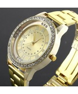 Women Watch Alloy Steel Metal Casual Fashion Luxury Diamond Quartz Wrist... - $8.90+