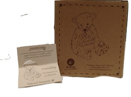 "Boyds Bears Tattered Treasures ""Friendship,"" #24110 image 6"