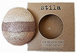 STILA Eye Shadow Trio Refill Only in Gold Glow, .09 oz - $12.98