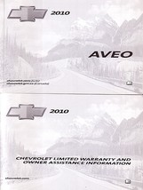 2010 Chevrolet AVEO owner's manual book guide 10 Chevy - $12.00