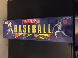 1991 Fleer Baseball Card Factory Set Sealed NM/M Condition 720 Cards + Stickers - $7.19