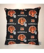 Bengals Pillow Cincinnati Bengals NFL Pillow Handmade in USA - $9.97