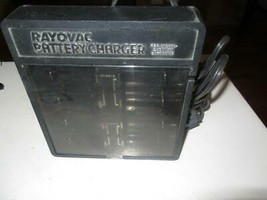 RAYOVAC BATTERY CHARGER - CHARGES C & D  BATTERIES-- ON SALE- S1 - $9.75