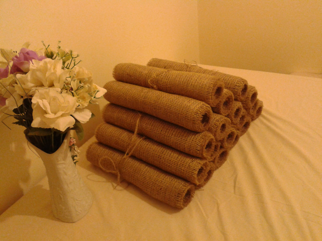 Free shipping burlap table runners set of 20 12 84 for 10 minute table runner 30 minute tote bag