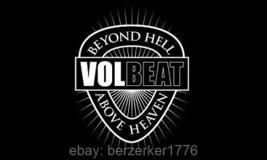 Volbeat Beyond Hell Above Heaven 3'x5' flag banner metal USA Seller Shipper - $25.00