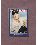 1992 Allan Kaye's Sports Cards # 149 Mickey Mantle GOLD New York Yankees - $4.99