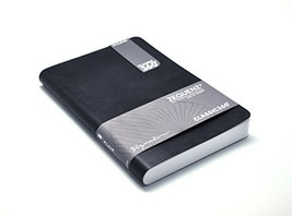 Zequenz Classic 360 Soft Cover Notebook, Soft Bound Journal, Black, Larg... - $28.34