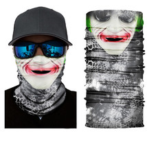 Crazy Cool JOKER Winter Face Mask Bandanas Headband Multi Headwear Scarf - $4.94
