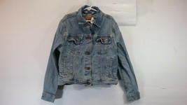 Levi's Youth Girl's Blue Denim Button Up Jean Jacket - Size Large - $20.00