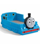 Toddler Bed Train Tank Engine Kids Bedroom Boys Plastic Sleep Relax Furn... - $248.99