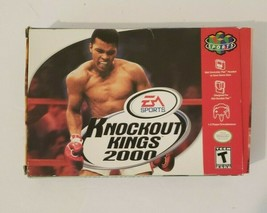 Knockout Kings 2000 Nintendo 64 N64 Video Game CIB Complete In Box - $14.80