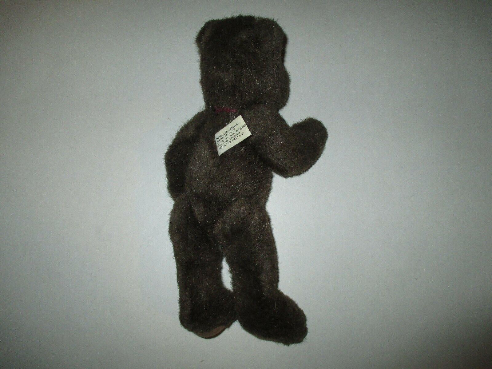 "Boyds Bear 1987 brown bear 11"""