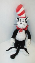 "Dr. Seuss Plush The Cat in the Hat Manhattan Toy Co shaggy furry 18""  2001 - $9.89"