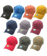 Polo Vintage Style Washed Baseball Hats Caps Adjustable Cotton Dyed Pigm... - $8.95