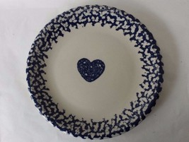 Folk Craft Dinner Plate Tienshan Hearts Sponge ... - $5.89