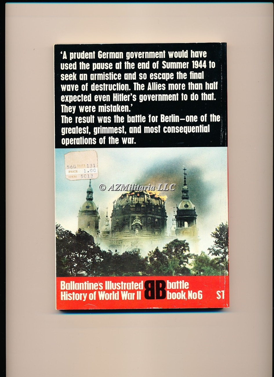 Battle for Berlin:End of the Third Reich (Battle Book No 6)