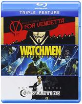 V for Vendetta / Watchmen / Constantine [Blu-ray]