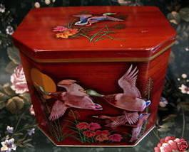 Vintage THORNES TOFFEE Candy Tin Collector Souvenir DUCKS Collectible So... - $24.95