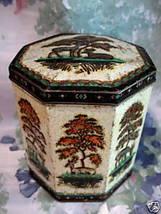 Old PEEK FREAN Tin Coffee Tea Souvenir MING TREE DEER Souvenir Collector... - $9.95