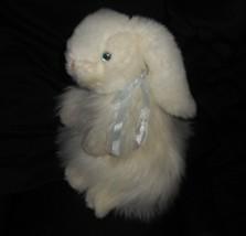 Vintage Ty 2001 Baby Kaschmir B Weiß Kaninchen Plüschtier Plüschtier Spi... - $24.52