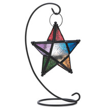 Evening Star Standing Candle Lantern - $22.00
