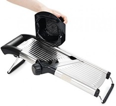 Adjustable Stainless Steel Mandoline Slicer- Vegetable Slicer- Potato S... - $39.21