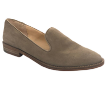 Vince Camuto 7.5 Gray Leather Levilla Loafer - $23.20