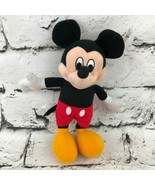 Walt Disney Mickey Mouse Plush Doll Classic Outfit Stuffed Animal Soft Toy - $7.91