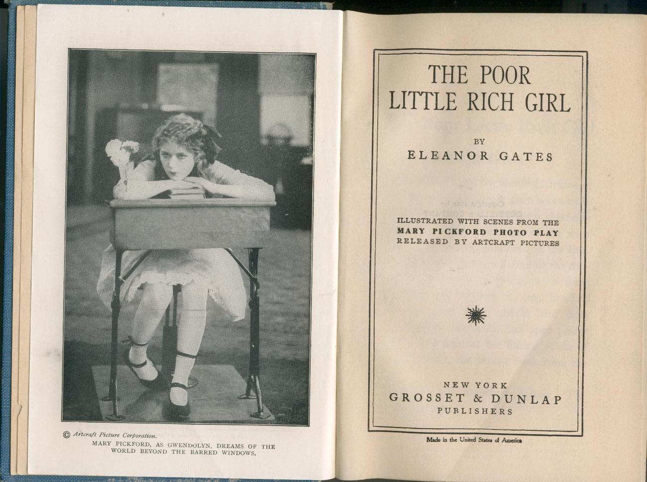 Gates--POOR LITTLE RICH GIRL--1917--Mary Pickford movie ed.