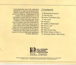 Dave Fredericks, Organ Edition, Volume 1,  1975 image 2