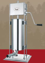 Coastal Products 061314-J 25 lb Dual Gear Stainless Steel Sausage Stuffer - $148.50