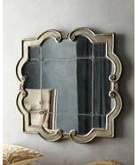 """VINTAGE FRENCH Restoration 36"""" ANTIQUED Wall MIRROR Horchow Priscilla Ro... - $420.35"""