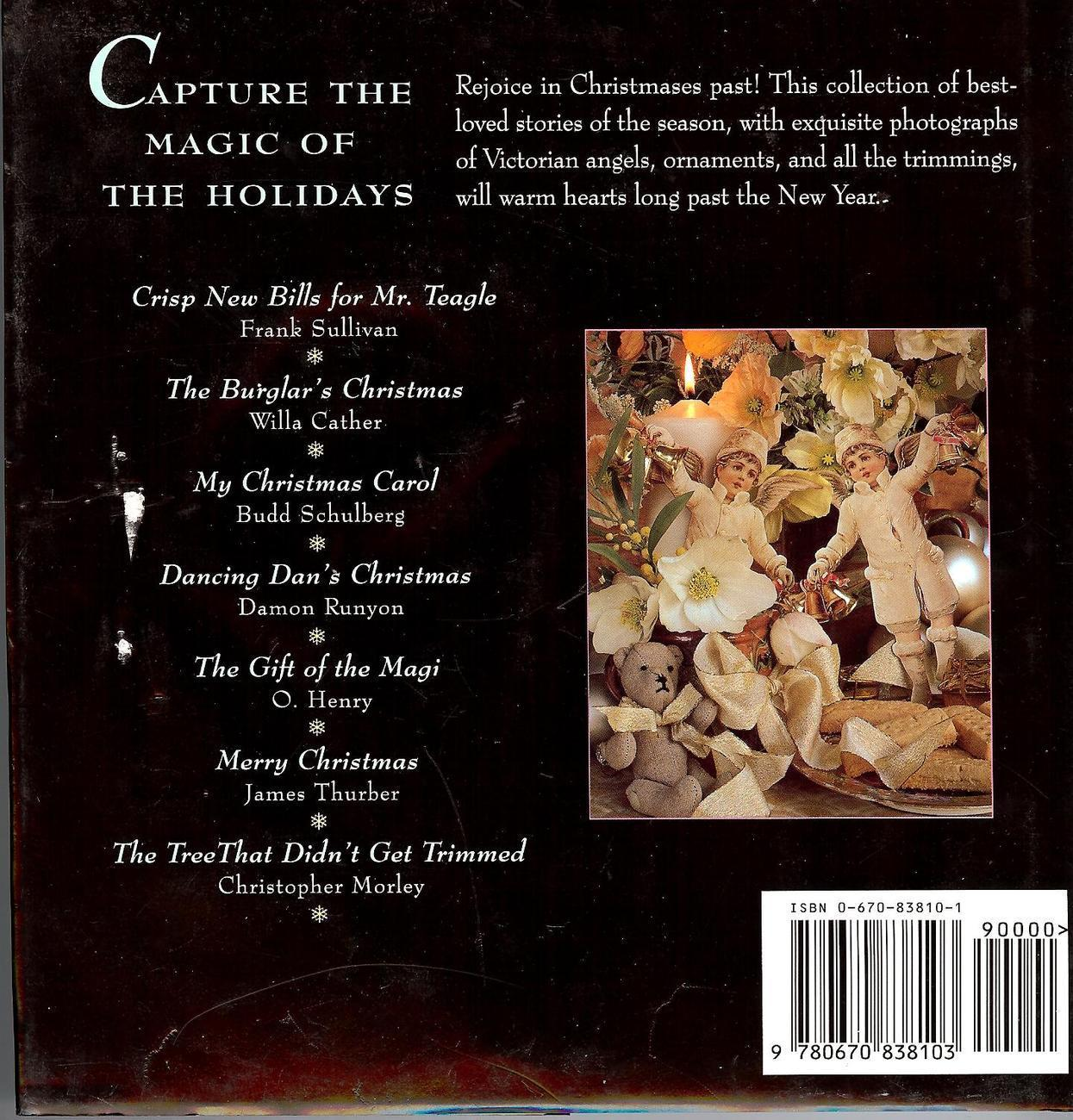 Christmas book Capturing The Magic of The Holidays by Celebrated Authors, 1st Ed