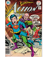 Action Comics #466 - December 1976 Issue - DC Comics - Grade Fine - $5.99