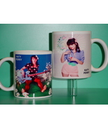 Katy Perry 2 Photo Designer Collectible Mug 01 - $14.95