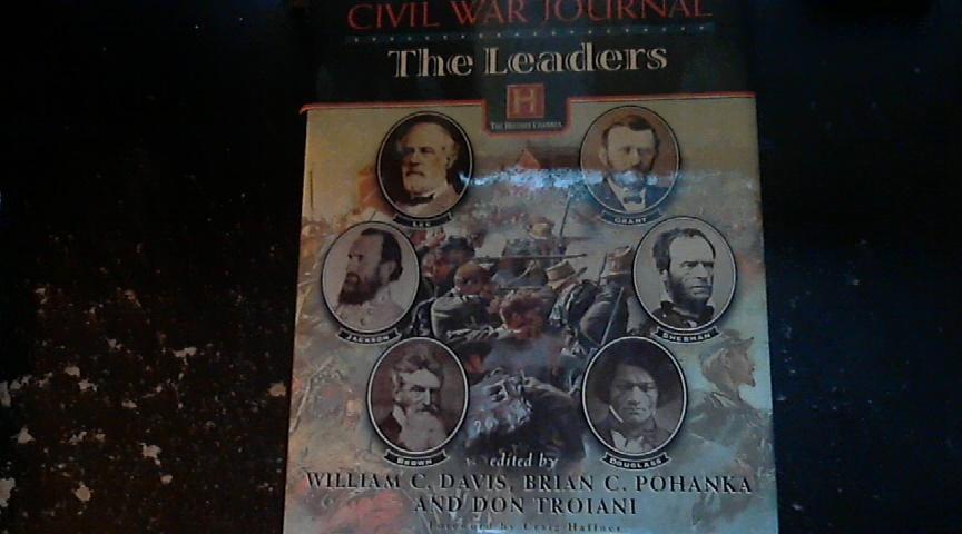 Civil War Journal The Leaders By William C. Davis (1997 Hardcover)