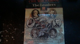 Civil War Journal The Leaders By William C. Davis (1997 Hardcover) image 1