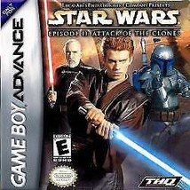 Star Wars: Episode II: Attack of the Clones (Nintendo Game Boy Advance, ... - $3.14