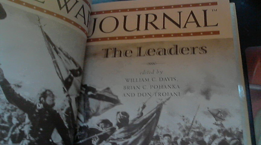 Civil War Journal The Leaders By William C. Davis (1997 Hardcover) image 3